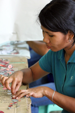 Fair trade capiz from the Philippines